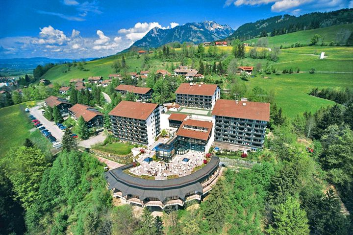 Wellnesshotel allg u stern in sonthofen for Hotel in sonthofen