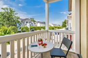 Hoteklzimmer Villa Sano mit Balkon