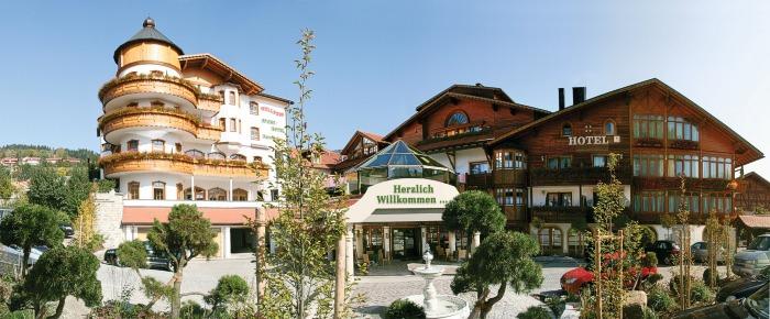 Wellnesshotel rimbach bayerischer wald for Stylische wellnesshotels
