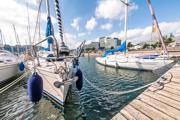 Urlaub in Damp - Yachthafen