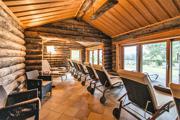 Wellnesshotel mit Sauna am Tollensesee